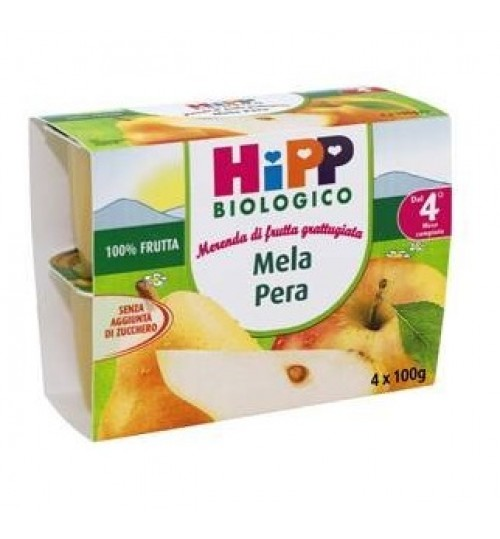 Hipp Bio Fru Grat Mela/pera