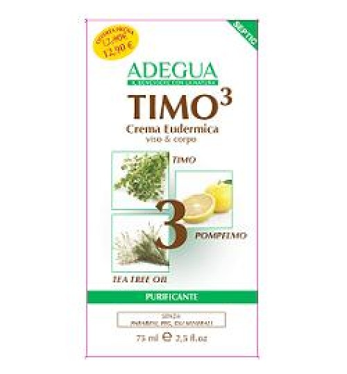 Adegua Timo3 Cr Eudermica 75ml