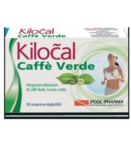 Kilocal Caffe' Verde 30cpr