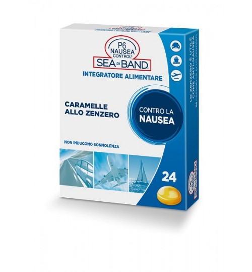 P6 Nausea Control Caramel Zenz