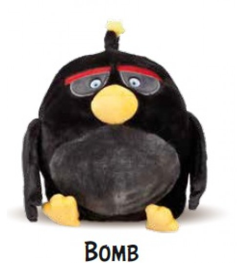 Angry Birds Bomb Peluche Risc