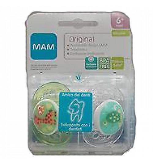 Mam 6+ 2 Succ Original Silikon
