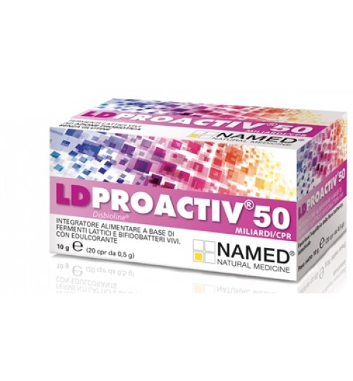 Ld Proactiv 50 20cpr