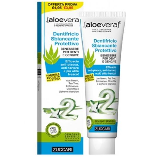 Aloevera2 Dentifricio Stevia