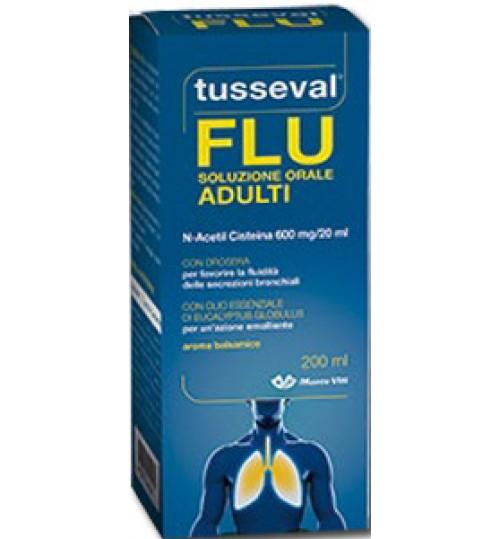 Tusseval Flu Sol Orale 200ml