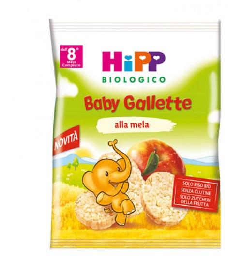 Hipp Bio Gallette Di Riso Mela