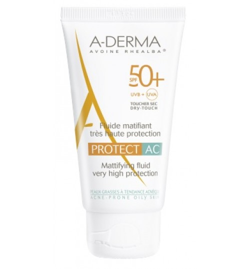 Aderma A-d Protect Ac Flu M50+