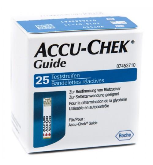 Accu-chek Guide 25 Strips Reta