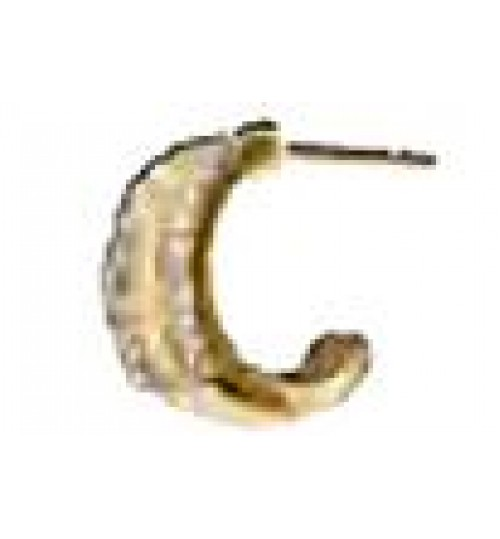 Orecchini Miami Golden Hoop