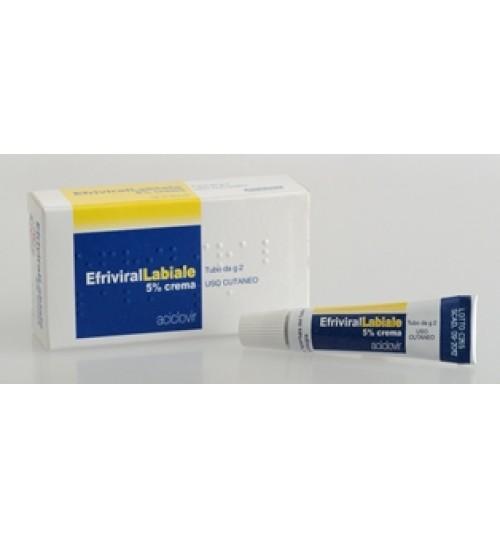 Efrivirallabiale*crema 2g 5%